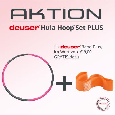 Sonderaktion – deuser® Hula Hoop® Set PLUS -