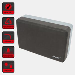 Yoga Block - schwarz/grau